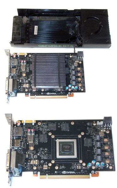 Система охлаждения видеокарты NVIDIA GeForce GTX 650Ti Boost