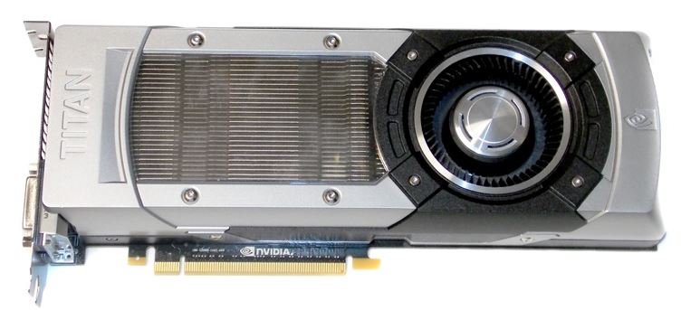 Обзор видеокарты NVIDIA GeForce GTX Titan