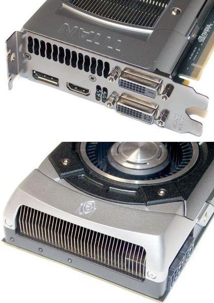 Порты видеокарты NVIDIA GeForce GTX Titan