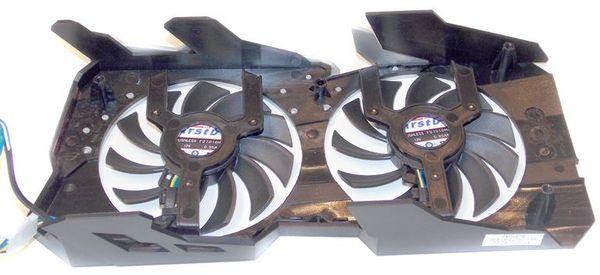 Вентиляторы видеокарты Sapphire Radeon HD 7790 Dual-X OC