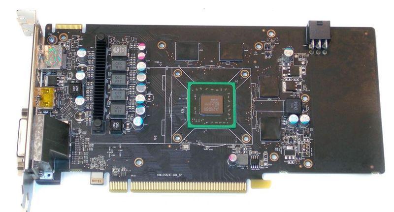 Sapphire Radeon HD 7790 Dual-X OC без кулера