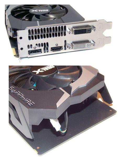 Порты видеокарты Sapphire Radeon HD 7790 Dual-X OC