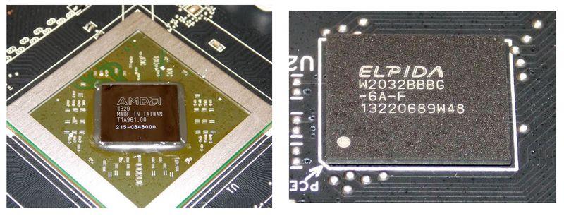 Графический процессор и память