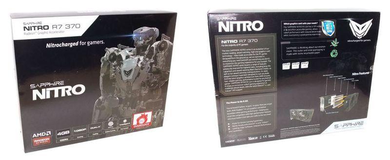 Упаковка Sapphire R7 370 Nitro