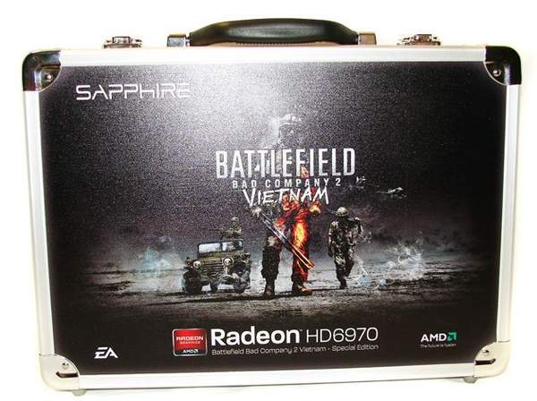 Чемоданчик с видеокартой Sapphire HD 6970