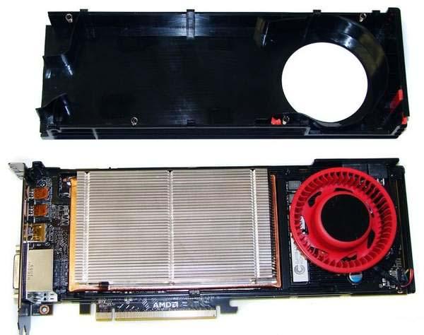 Охлаждение на XFX HD 6970 и HD 6950 аналогично эталонному