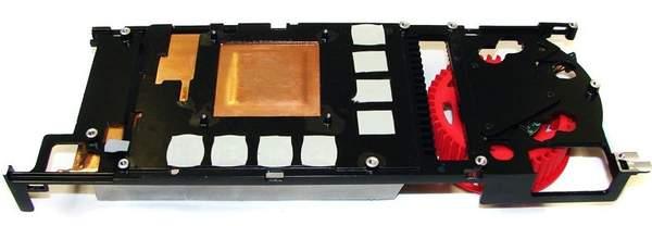 Алюминевая пластина каркас - радиатор