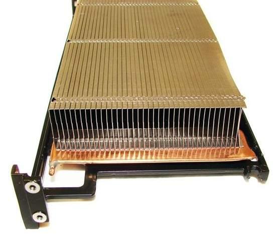Радиатор кулера XFX HD 6970 и HD 6950