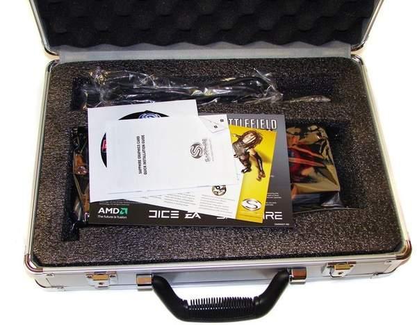 Дополнительные аксессуары к видеокарте Sapphire HD 6970