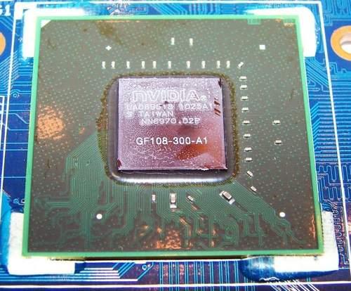 Графический чип GF 108