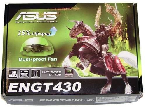 Упаковка видеокарты Asus ENGT430