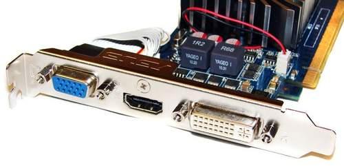 Порты видеокарты Asus ENGT430