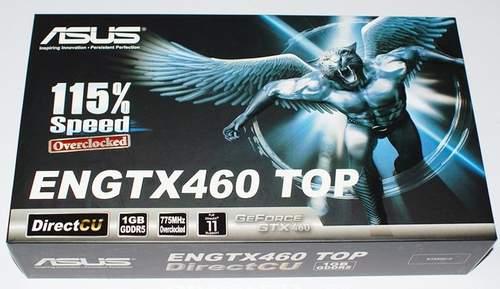 Упаковка видеокарты Asus ENGTX460 TOP