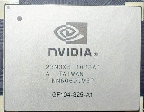 Графический процессор NVIDIA GF104