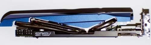 Видеокарта Asus ENGTX460 TOP - вид сверху
