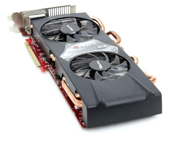 Видеокарта Club 3D Radeon HD 6870 X2