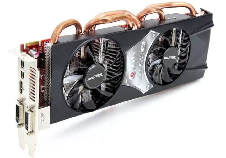Система охлаждения Club 3D Radeon HD 6870 X2