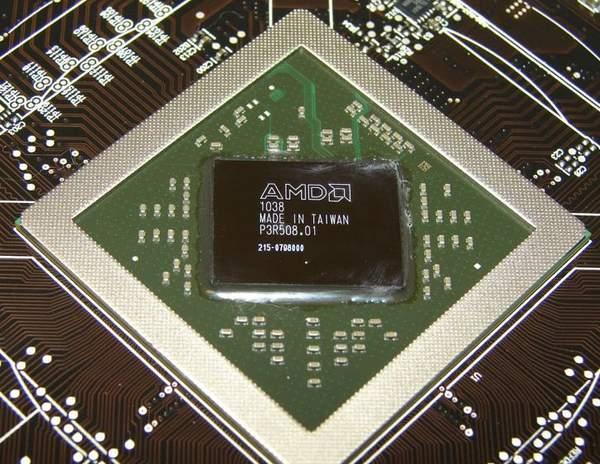 Графический процессор HD 6870