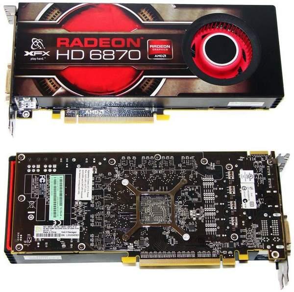 Видеокарта XFX HD 6870
