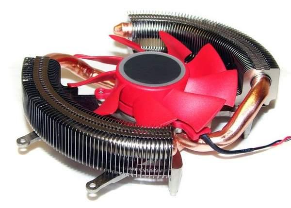 Оригинальный кулер XFX видеокарты HD 6850