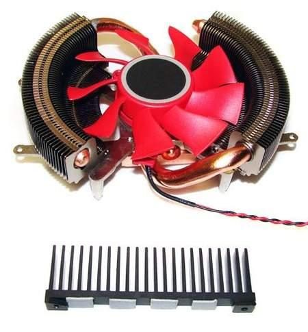 Дополнительный радиатор на силовые элементы