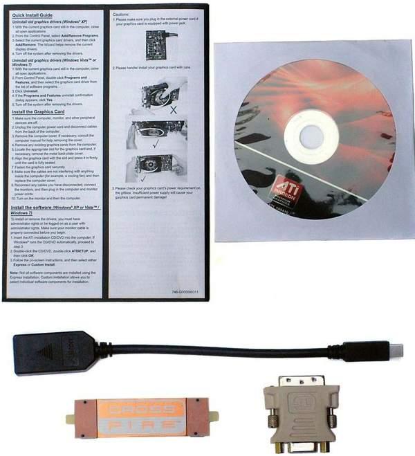 Комплектация видеокарты PowerColor HD 6870