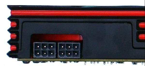Разъемы питания PowerColor HD 6870