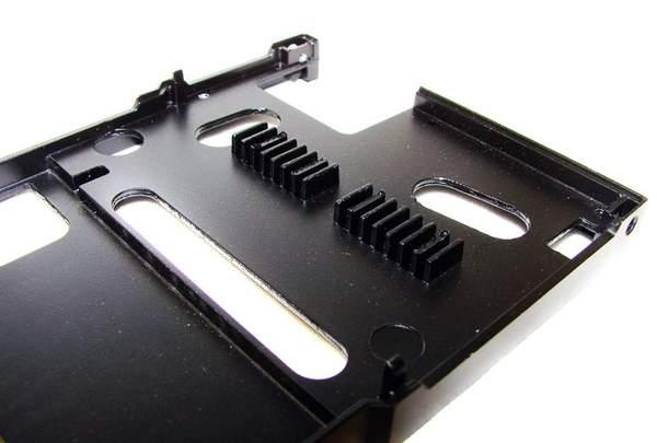 Пластина системы охлаждения видеокарты NVIDIA GTX 560 Ti