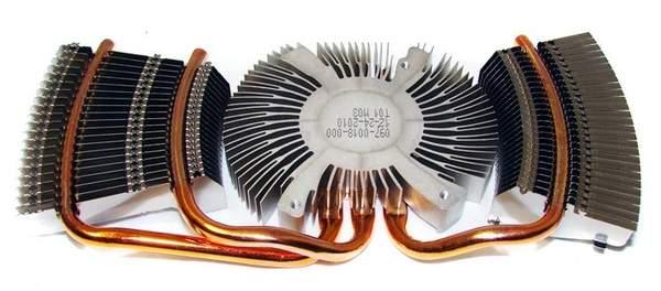Радиатор системы охлаждения NVIDIA GTX 560 Ti