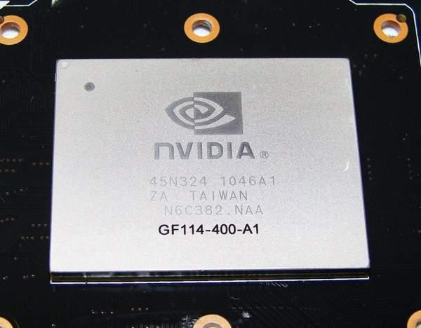 Графический процессор GTX 560 Ti