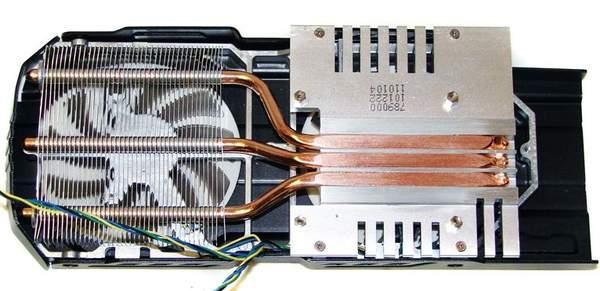 Кулер видеокарты Asus GTX 560 Ti DirectCUII TOP