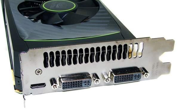 Порты видеокарты NVIDIA GTX 560 Ti
