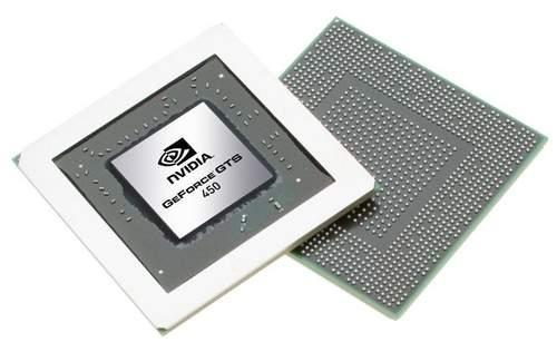 NVIDIA представили новый графический чип GTS 450