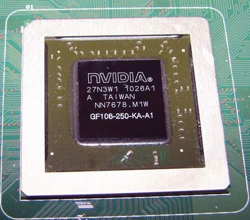 Графический чип NVIDIA GTS 450