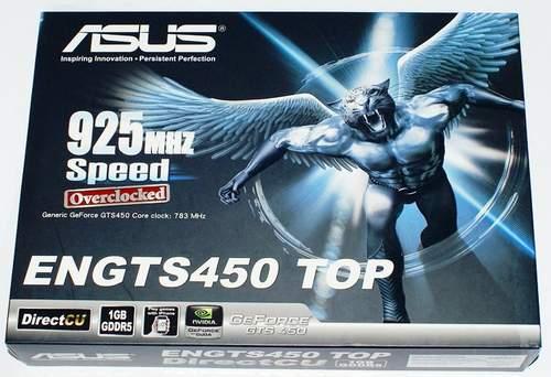 Упаковка Asus ENGTS450 TOP