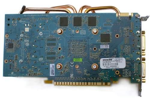Inno3D GTS 450 - обратная сторона