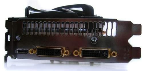 Порты видеокарты Inno3D GTS 450