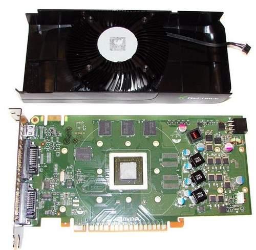 Видеокарта GTS 450 без кулера