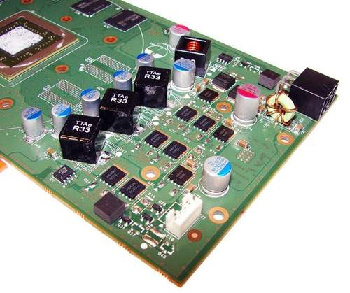 Схема питания NVIDIA GTS 450