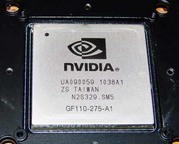 Графический чип GTX 570