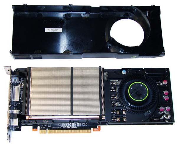 Видеокарта GTX 570 без кожуха