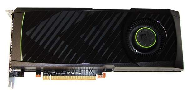 Видеокарта NVIDIA GeForce GTX 580