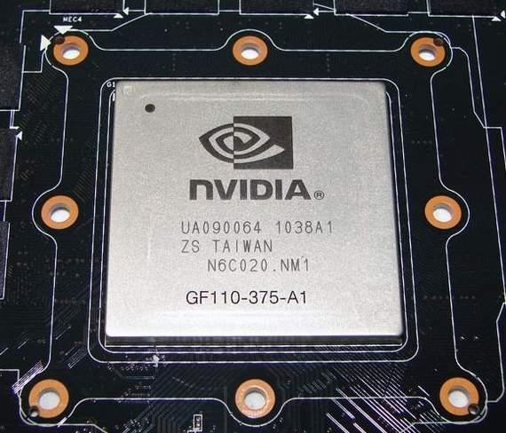 Графический чип GTX 580
