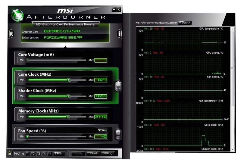 Разгон NVIDIA GTX 580