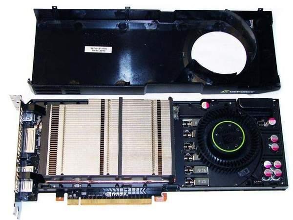 Система охлаждения GTX 580 без пластикового кожуха