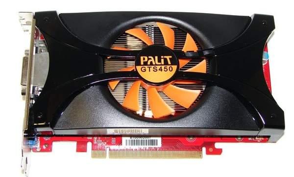 Видеокарта Palit GTS 450 Sonic Platinum