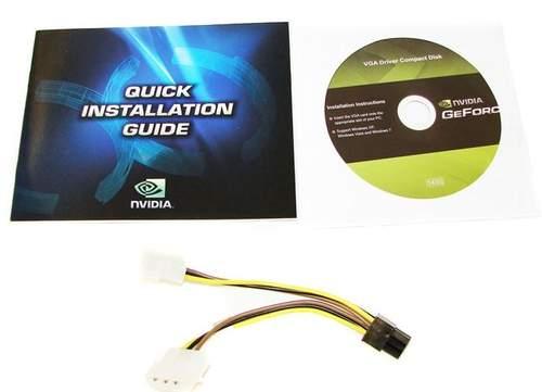 Комплектация видеокарты Palit GTX 460 1 Гб Sonic Platinum Edition