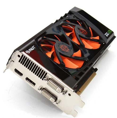 Порты видеокарты Palit GeForce GTX 470