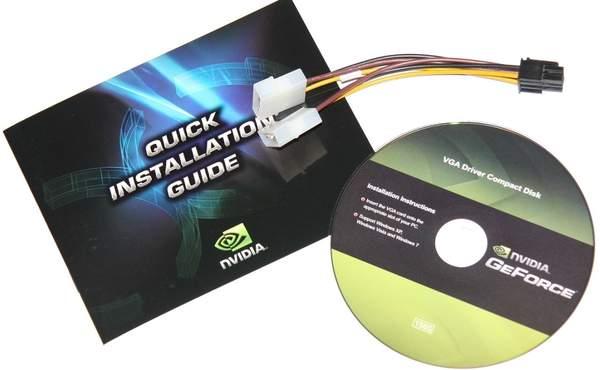 Комплектация видеокарты Palit GTX 560 Ti Sonic