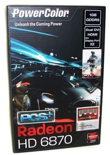 Упаковка PowerColor HD 6870 PCS+